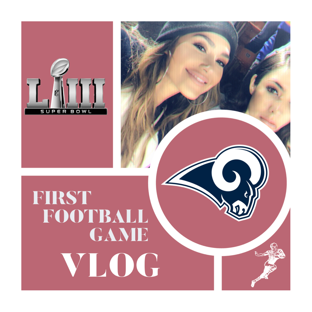 MY FIRST FOOTBALL GAME EVER VLOG