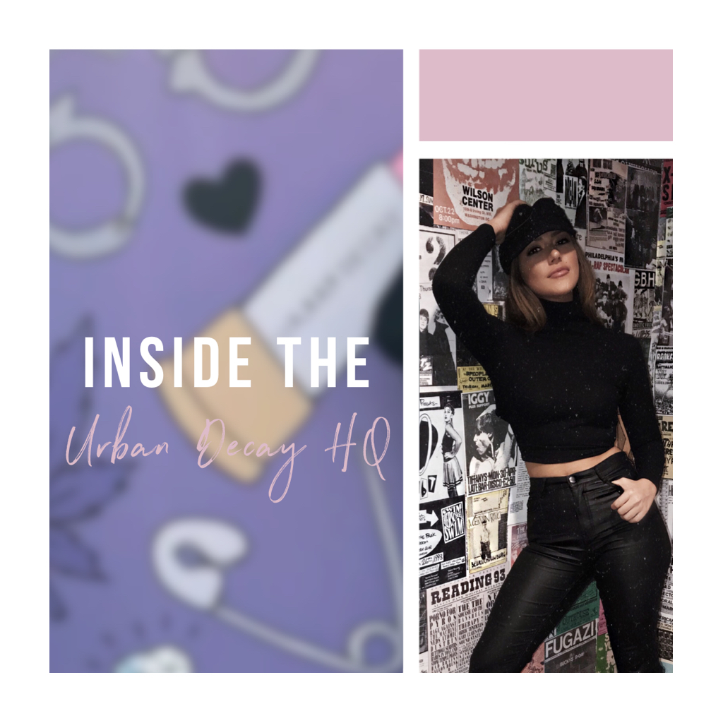 INSIDE THE URBAN DECAY HQ TOUR